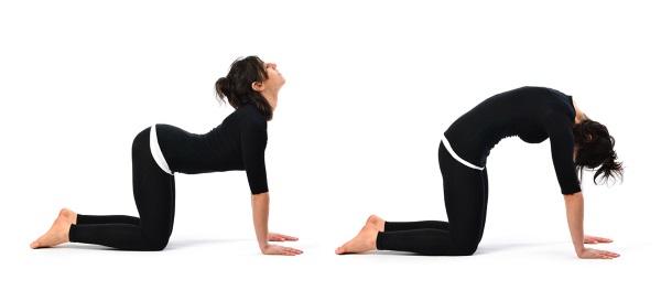 Упражнения при боли в копчике после родов