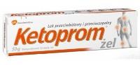 Кетопром - аналог фастум геля