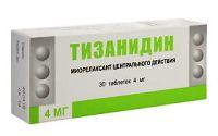 Тизанидин - аналог сирдалуда